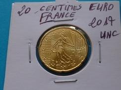20  CENTIMES  EURO FRANCE  2017 Unc  (  Sous étui H B - 2 Photos  ) - Francia