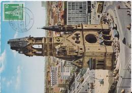 Berlin (West) Mi 144 Stadtbilder Maximumkarte Carte Maximum 1961 - Briefe U. Dokumente