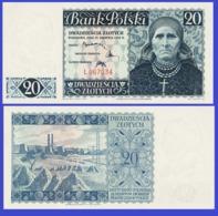 Poland  20 Zloty 1939 - REPLICA --  REPRODUCTION - Poland