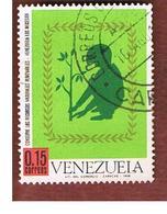 VENEZUELA  - SG  2047   -       1965       PLANTING A TREE           -  USED° - Venezuela
