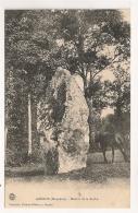 GORRON MENHIR DE LA ROCHE   CPA1886 - Gorron