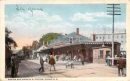 USA - Dover - Boston And Maine R.R. Station (train) - Dover