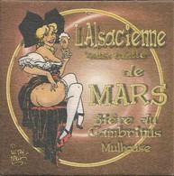 SOUS-BOCKS - L'ALSACIENNE SANS CULOTTE (Bière De France) Bière Du Gambrinus (Mulhouse, ALSACE) De Mars. - Sous-bocks