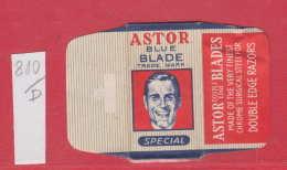 D810 / Wrapper - ASTOR BLUE BLADE TRADE MARK SPECIAL , DOUBLE EDGE RAZOS, Razor Blade , Lame Rasoir , Lamette Lametta , - Razor Blades