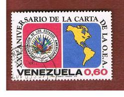 VENEZUELA  - SG 2221    -       1973   ANNIV. OF  O.E.A. (O.S.A.)        -  USED° - Venezuela