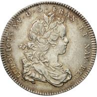 France, Jeton, Louis XV, Réunion Des Marchands De Rouen, 1719, SUP, Argent - Other