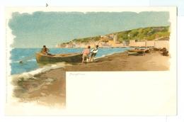 1900's? Italy, Napoli, Mergellina. Alberto Prosdocimi Printed Art Pc, Unused. - Illustrators & Photographers