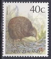 Neuseeland New Zealand 1988 Tiere Fauna Animals Vögel Birds Oiseaux Aves Uccelli Kiwi Streifenkiwi, Mi. 1051 ** - Neuseeland