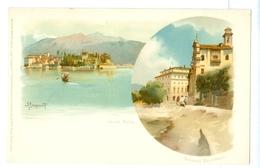 1900's? Italy, Lago Maggiore. Alberto Prosdocimi Printed Art Pc, Unused. - Illustrators & Photographers