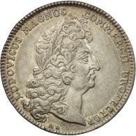 France, Jeton, Louis XIV, Chambre De Commerce De Rouen, 1712, SUP+, Argent - Other