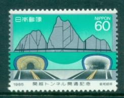 Japan 1985 Tunnel Opening MLH - Japan
