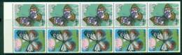Japan 1987 Butterflies Booklet Pane Sc#1699Ae MUH Lot25207 - Japan