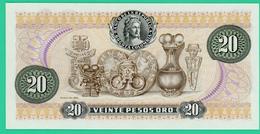 20 Pesos - Colombie - 1982 - N° 94051735 -   Neuf - - Colombie
