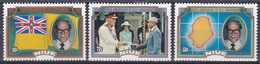 Niue 1984 Geschichte History Selbstverwaltung Autonomy Politiker Politicans Rex Blundell Flaggen Flags, Mi. 590-2 ** - Niue