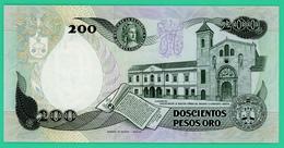 200 Pesos - Colombie - 1991 - N° 81291497 -   Neuf - - Colombie