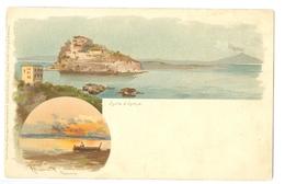 1900's, Italy, Napoli, Vesuvius. Alberto Prosdocimi Printed Art Pc, Unused. - Illustrators & Photographers