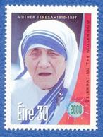 IRLANDE EIRE Mère Teresa Neuf **. Prix Nobel De La Paix. - Mère Teresa