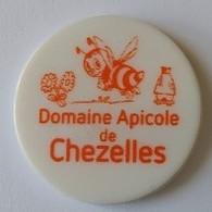 Jeton De Caddie - Domaine Apicole De Chezelles - En Plastique - Trolley Token/Shopping Trolley Chip