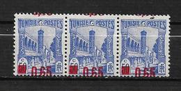 Tunisie N°205 Et 182x3 Surcht Décalée  Neufs ** - Tunesien (1888-1955)