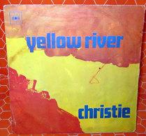 """CHRISTIE YELLOW RIVER  COVER NO VINYL 45 GIRI - 7"""" - Accessori & Bustine"""