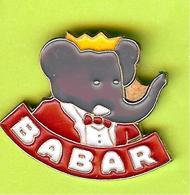 Pin's BD Babar Costume Rouge (Babar Éléphant) - 2D12 - Comics