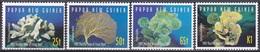 Papua-Neuguinea New Guinea 1997 Tiere Fauna Animals Korallen Corals Riffe Reef Blumentiere, Mi. 804-7 ** - Papua-Neuguinea