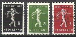 NEDERLAND NVPH 327/331  Gestempeld/ Obliteré / Cancelled - 1891-1948 (Wilhelmine)