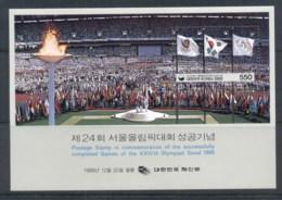 Korea 1988 Summer Olympic, Seoul, Opening Ceremony MS MUH - Korea (...-1945)