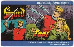 GERMANY K-Serie A-267 - 05.92 - Comic, Sigurd - MINT - Germany