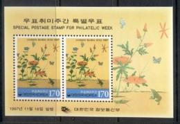 Korea 1997 Philatelic Week MS MUH - Korea (...-1945)