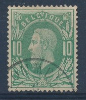 """Nr 30 - Cachet DC """"LOMMEL"""" - (ref. ST-993) - 1869-1883 Léopold II"""