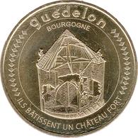 89 BOURGOGNE GUÉDELON CHÂTEAU FORT N°7 MÉDAILLE MONNAIE DE PARIS 2018 JETON TOKEN MEDALS COINS - Monnaie De Paris