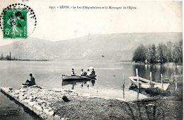 73. Lépin. Le Lac D'aiguebelette Et La Montagne De L'épine - Autres Communes