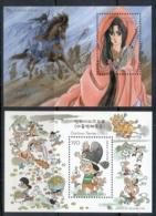 Korea 2003 Cartoons MS MUH - Korea (...-1945)