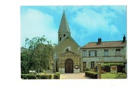 Cpm - 78 - Acheres - L'église - Arrêt Autobus - Acheres