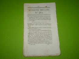 Lois 1821:Cie S'assurance Contre L'incendie à Nancy Pour Meuse,Vosges,Meurthe,Moselle:statuts,administration.. Legs. - Decrees & Laws