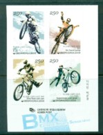 Korea 2009 BMX Bikes Blk 4 MUH Lot82598 - Korea (...-1945)