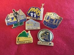 Lot De 6 Pin's La Poste - Poste