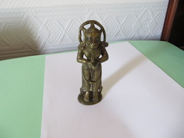 STATUETTE En BRONZE Du DIEU SINGE HANAMÂN XIXème Siècle ( Inde )  ( Pas Courant ) - SUPERBE FIGURINE, VOIR SCANS - Asian Art