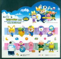 Korea 2011 Korean Made Cartoon Characters, Pororo The Little Penguin MS MUH - Korea (...-1945)