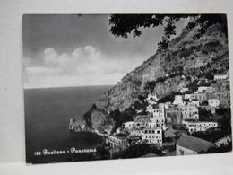 POSITANO  -- SALERNO  --  PANORAMA  E ALBERGO SAVOIA - Salerno