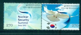 Korea 2012 Seoul Nuclear Security Summit Pr MUH Lot83039 - Korea (...-1945)