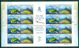 Korea 2013 Diplomatic Relations-Peru Sheetlet MUH Lot83049 - Korea (...-1945)