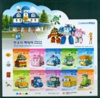 Korea 2013 Korean Made Characters III MS MUH Lot83042 - Korea (...-1945)