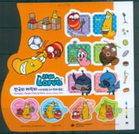 Korea 2014 Korean Made Cartoon Characters, Larva MS MUH - Korea (...-1945)