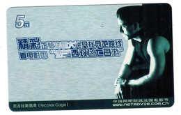 Movie Star,Movie Card,Nicolas Cage - China