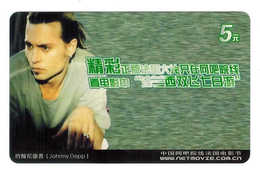 Movie Star,Movie Card,Johnny Depp(US) - China