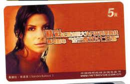 Movie Star,Movie Card,Sandra Bullock(US) - China