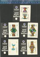 METRO MARKT SPEELKAARTEN JOKER PLAYING CARDS KAARTSPEL JEU DE CARTES CARD GAME KARTENSPIEL Dutch Matchbox Labels - Cajas De Cerillas - Etiquetas