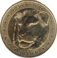03 DOMPIERRE ZOO LE PAL N°7 LE LION MÉDAILLE MONNAIE DE PARIS 2017 JETON MEDALS COINS TOKEN - Monnaie De Paris